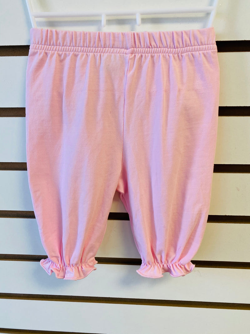 Girls Pink Bubble Pants