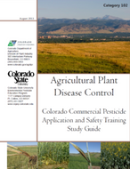 Category 102: Agricultural Plant Disease Control (2013) CO