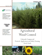 Category 103: Agricultural Weed Control (2014) CO