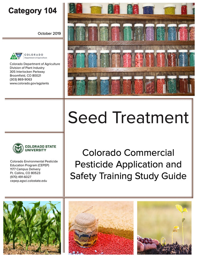 Category 104: Agricultural Seed Treatment (2019) CO