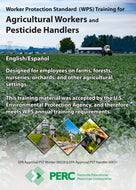 DVD--Set of 2 (1 English and 1 Spanish) WPS Training DVDs for Agricultural Workers and Pesticide Handlers