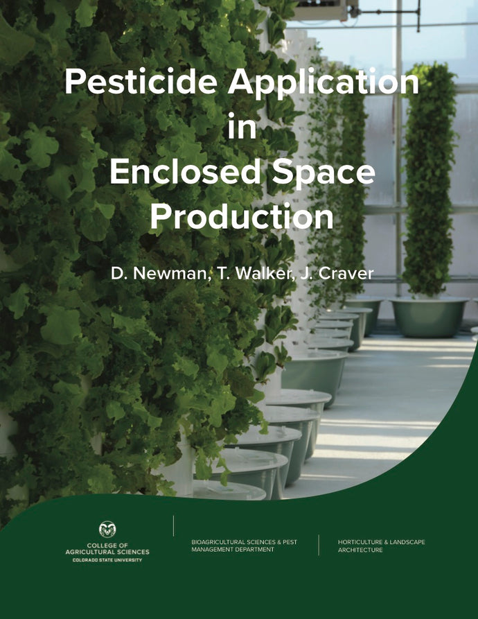 PESTICIDE APPLICATION IN ENCLOSED SPACE PRODUCTION