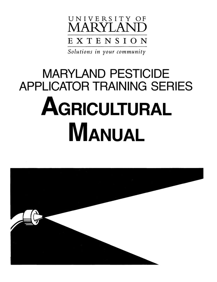 AGRICULTURAL PEST CONTROL; MD