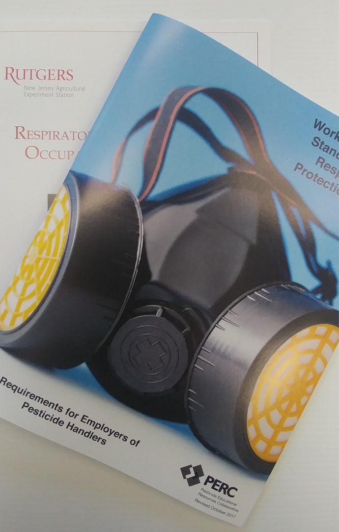 Respiratory Bundle of 10--Bundle of 5 WPS Respiratory Protection Guide and 5 Rutgers Respiratory Guide