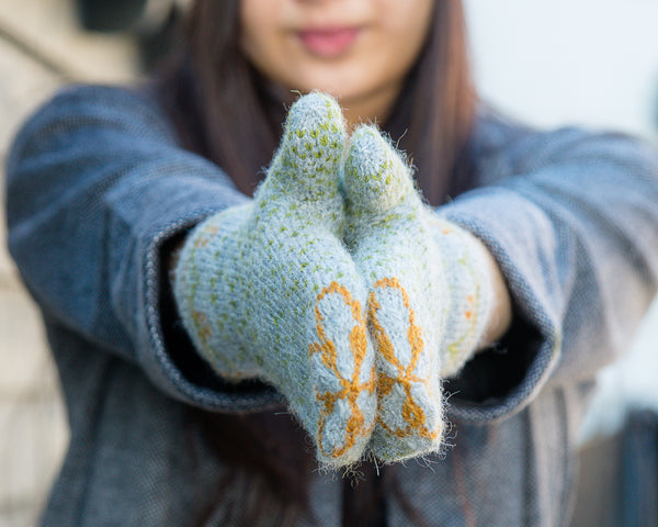 Fairy Lights Mittens