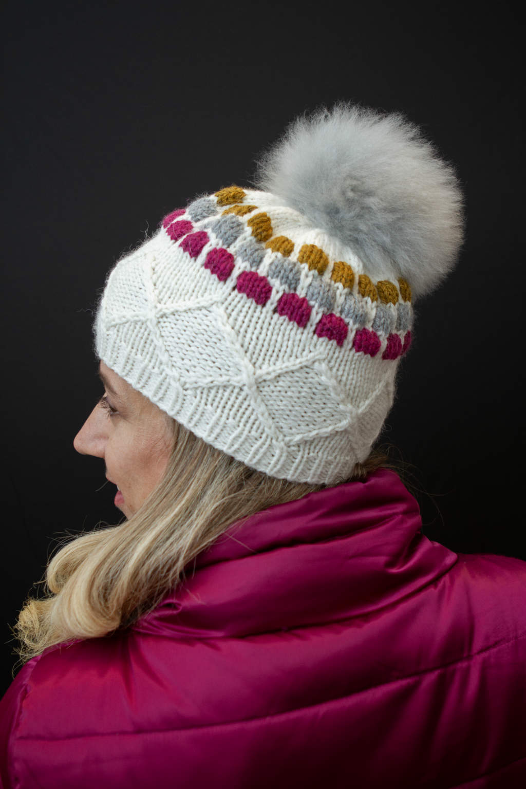 Nakiska Slopes Hat kit