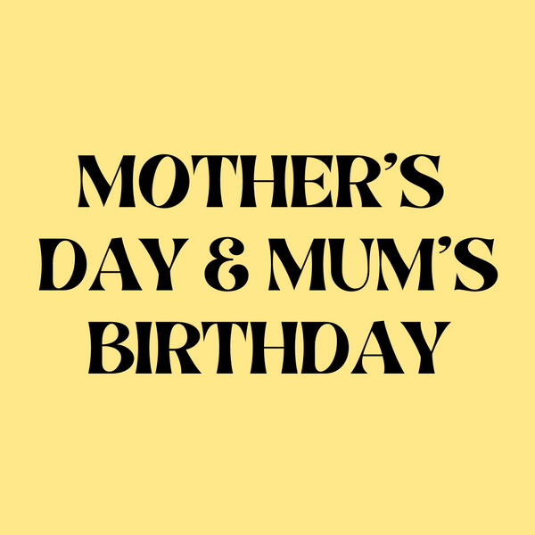 Mother's Day & Mum Birthday Cards