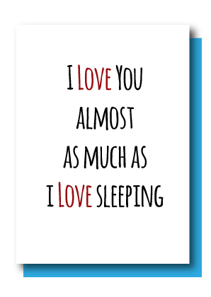 Love Sleeping