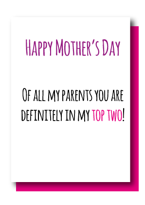 Mother's Day... Top Two