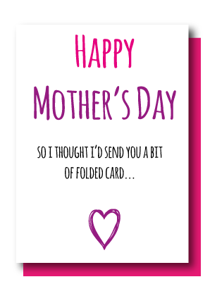 A Bit Of Folded Card Mothers Day