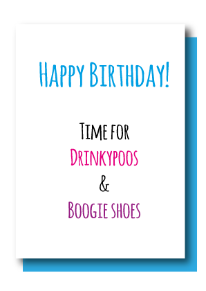 Drinkypoos & Boogie Shoes