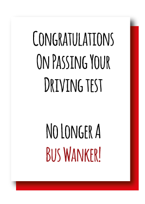 Driving Test...Bus Wanker