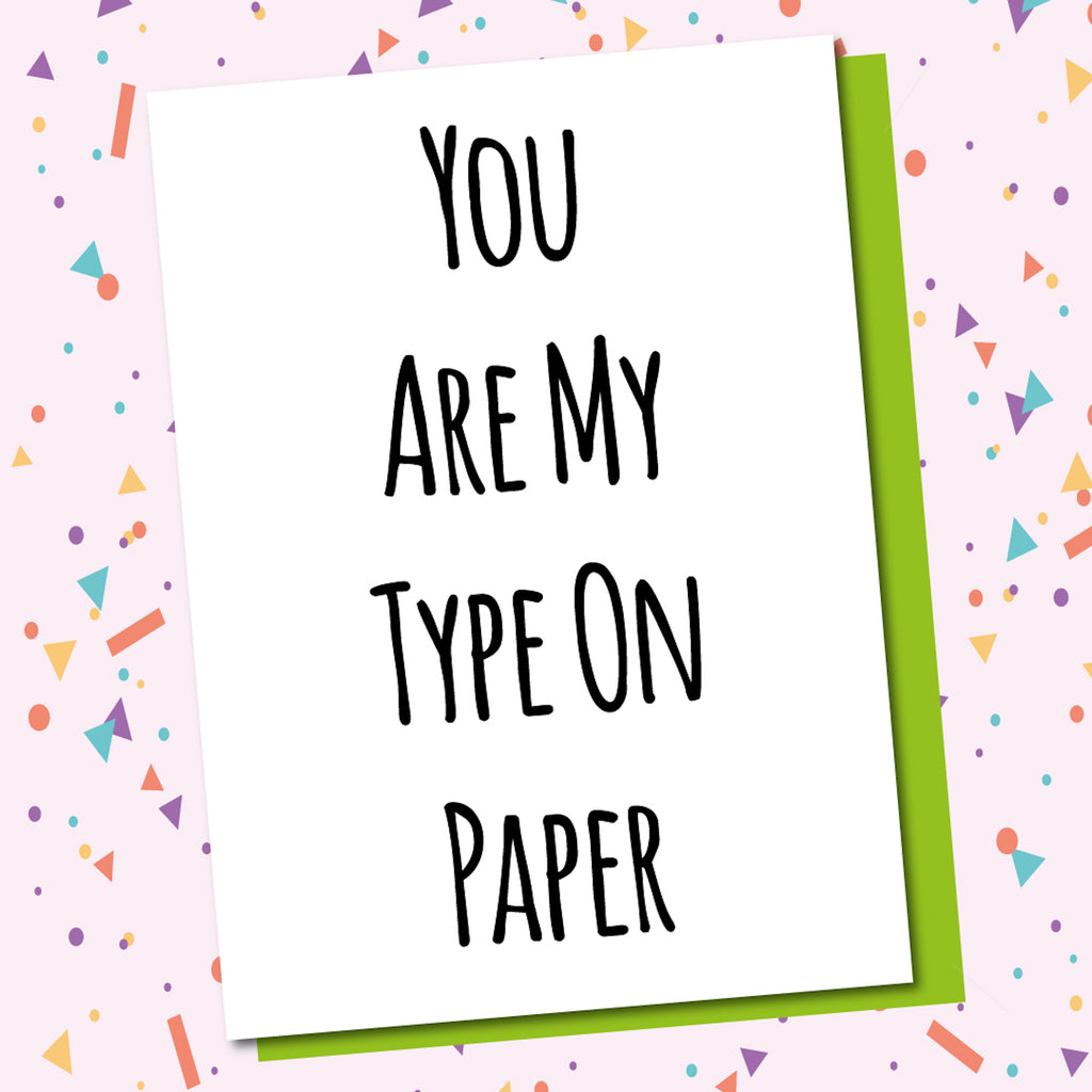 My Type On Paper