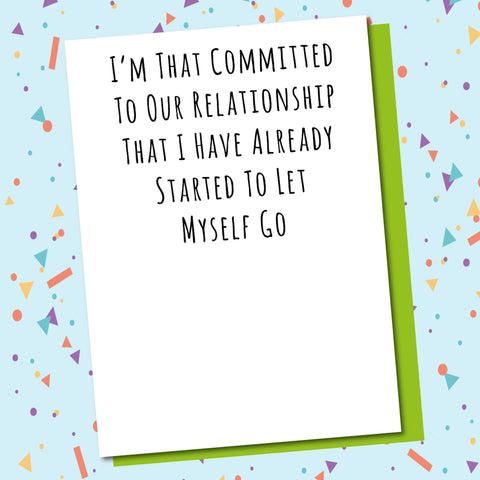 Committed To The Relationship