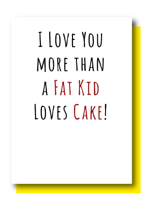 Fat Kid Loves Cake