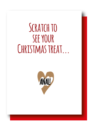 Christmas Treat Anal