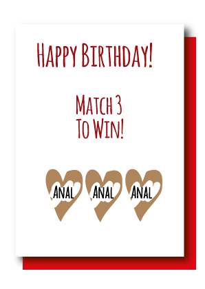 Match 3 Birthday Anal