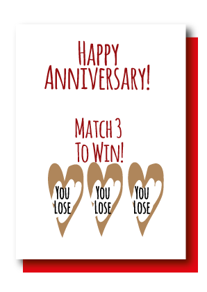 Match 3 Anniversary, You Lose
