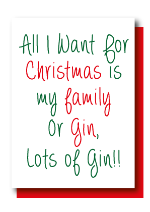 All I Want for Xmas... Gin!