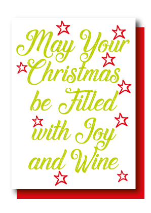 Christmas Filled with Joy & Wine
