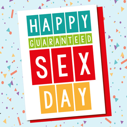 Guaranteed Sex Day