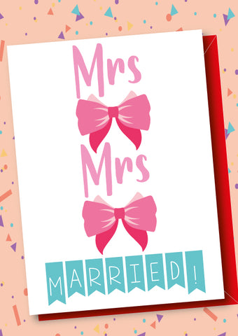 Mrs & Mrs Married