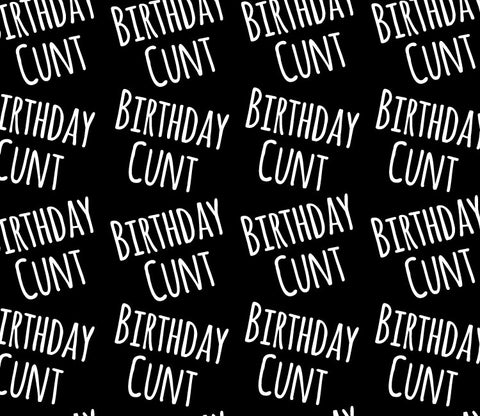 Birthday Cunt