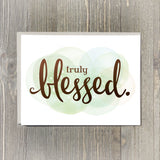 Truly Blessed Card Set, 10pk