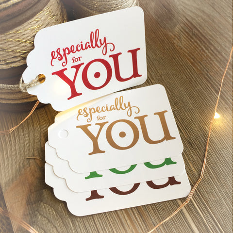 Especially For You Gift Tags