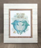 Acceptance Dolphins Print