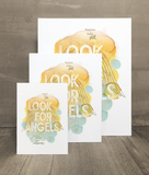 Look for Angels Print