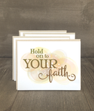Hold on to Your Faith Card Set