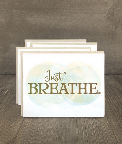 Just Breathe Card Set