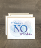 There are No Words Card Set
