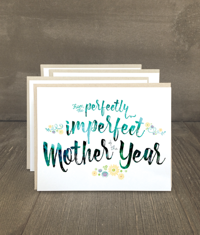 Mother of the Year Card Set
