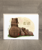 Love You Beary Much Bear Card