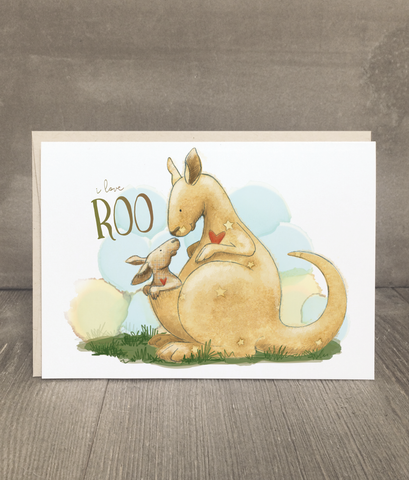 I Love Roo Card