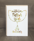 Father of the Year Card and Print