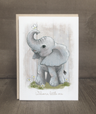 Welcome, Little One Elephant Card