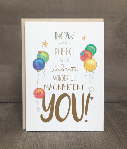 Birthday Card: Wonderful You