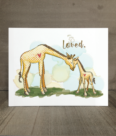 Giraffe | You Are So Loved