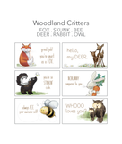 Woodland Critter Lunch Notes