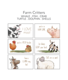 Farm Critter Lunch Notes