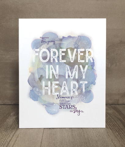 Forever in My Heart Print