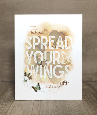 Spread Your Wings Print