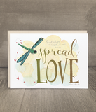 Spread Love Encouragement Card and Print