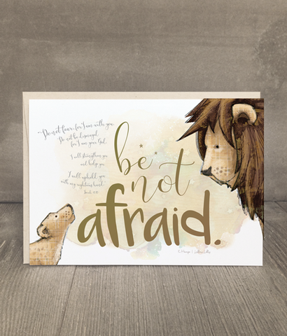 Be Not Afraid | Encouragement