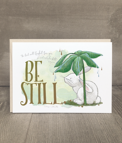 Be Still Comfort Card and Print