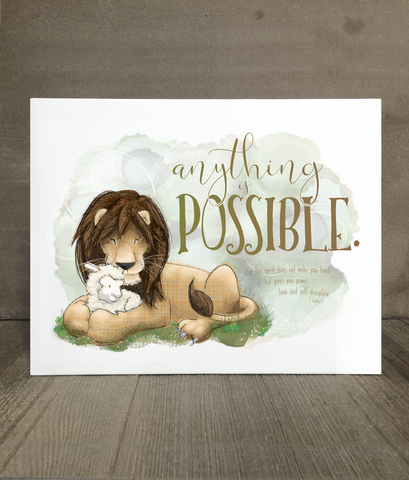 Anything is Possible | Encouragement