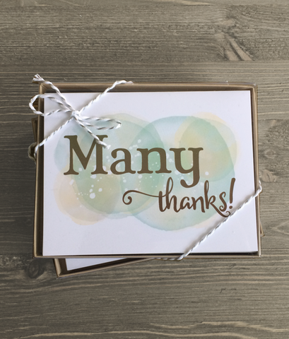 Thank You Variety Card Set, 10pk